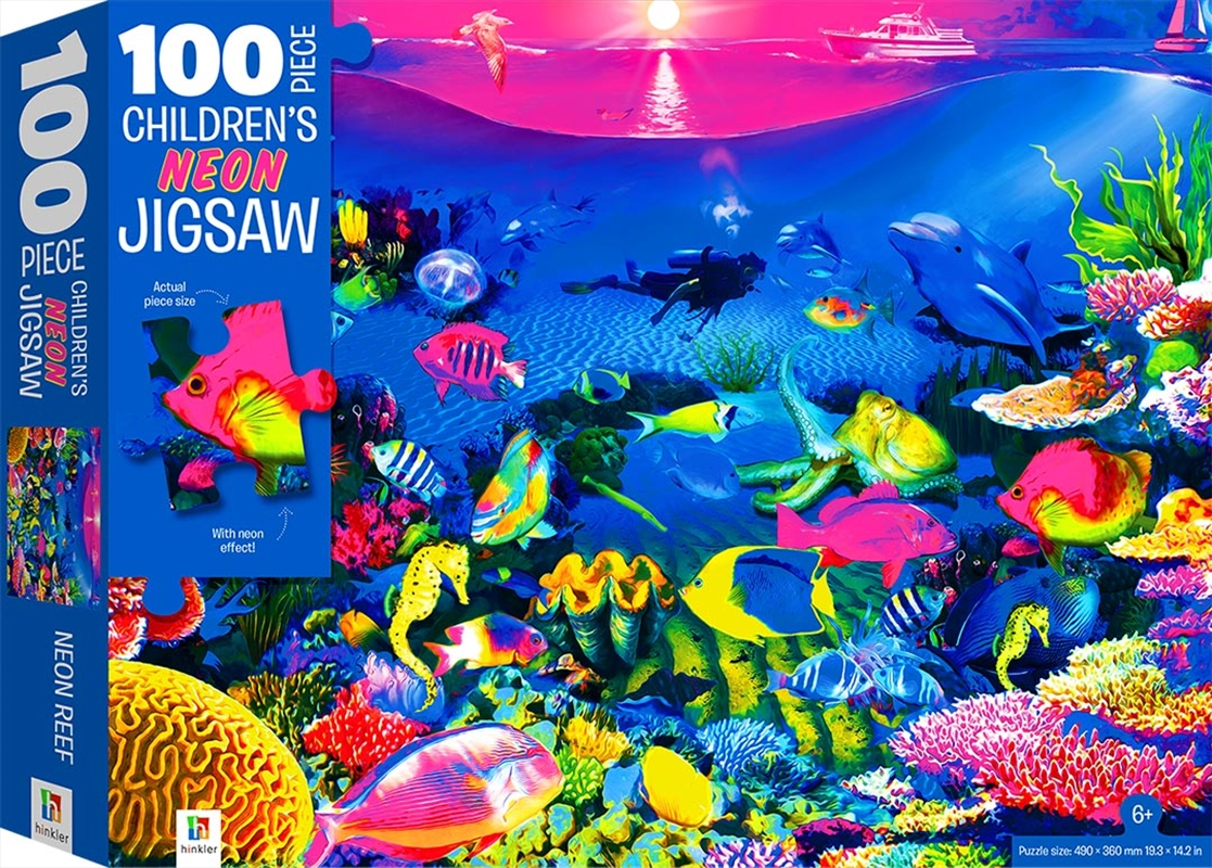 100-Piece Children's Jigsaw with Treatments: Reef | Merchandise