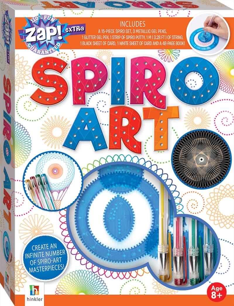 Zap! Extra: Spiro Art | Merchandise