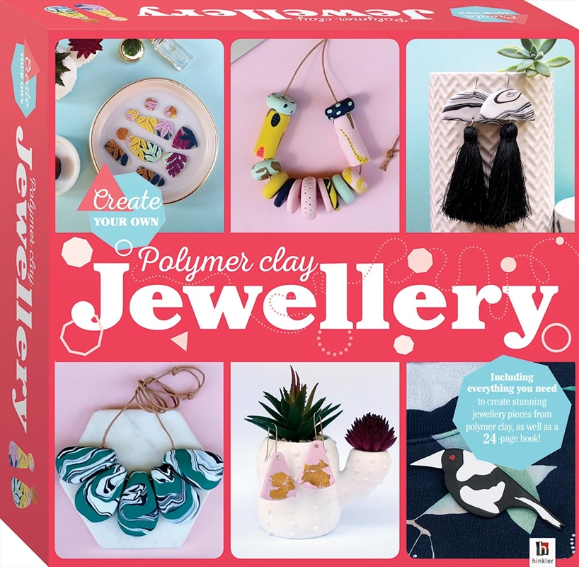 Create Your Own Polymer Clay Jewellery Box Set | Merchandise