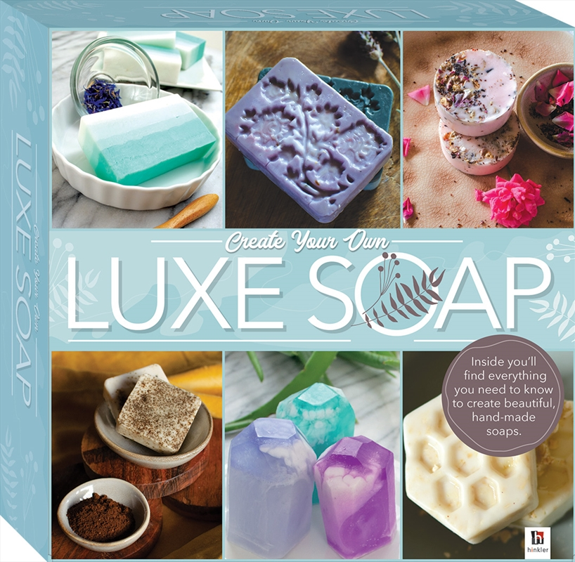 Create Your Own Luxe Soap Kit Box Set | Merchandise