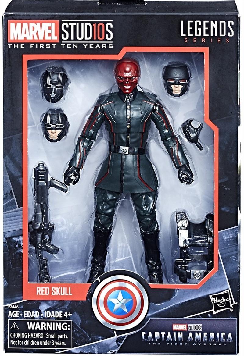 Red Skull Action Figure – Legends Series – Marvel Studios 10th Anniversary | Merchandise