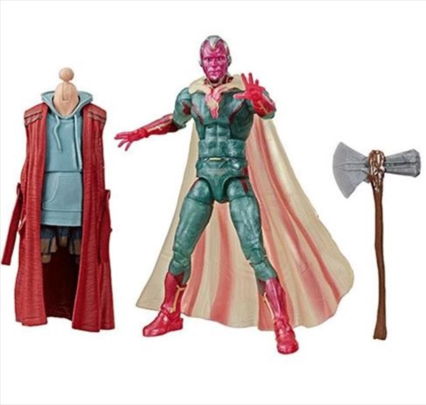 Avengers Endgame Marvel Legends Thor Series Vision Action Figure | Merchandise