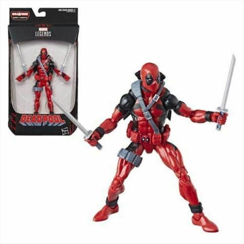 Deadpool Marvel Legends 6-Inch Deadpool Action Figure | Merchandise
