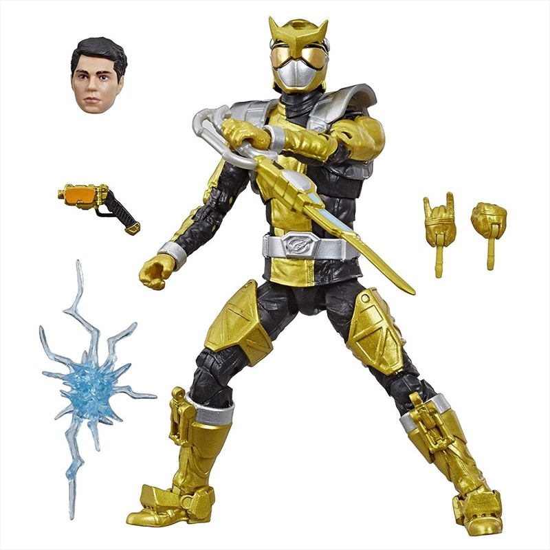 Power Rangers Beast Morphers Lightning Collection Gold Ranger Action Figure | Merchandise