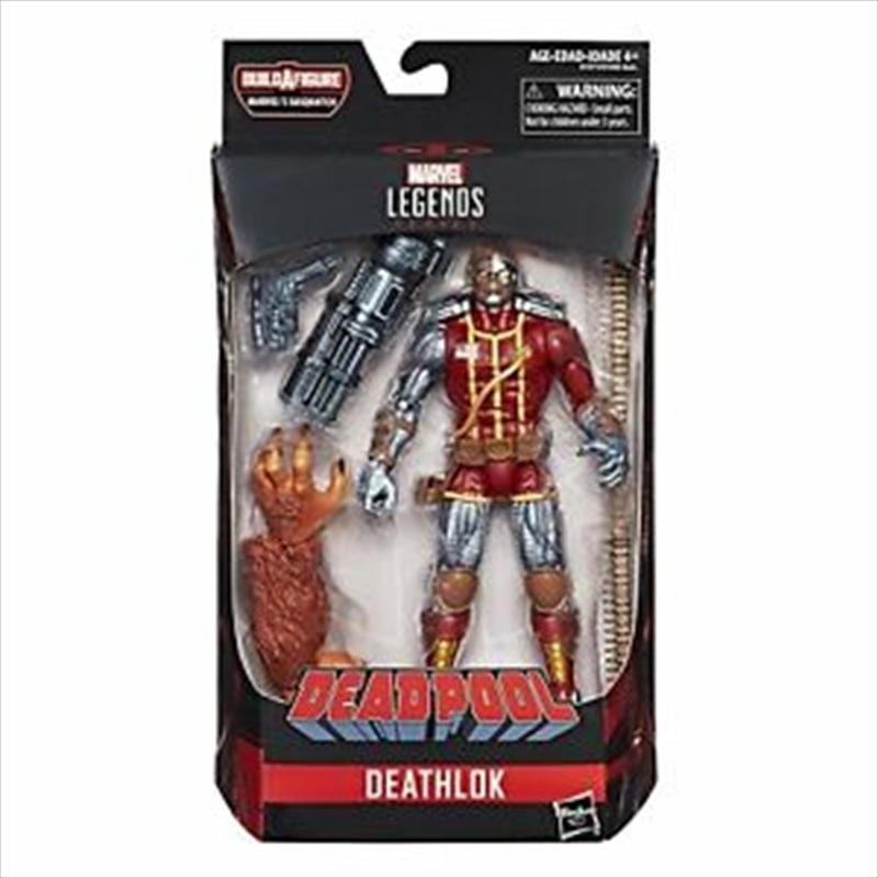 Marvel Legends Deathlok 6 Inch Figurine   Merchandise