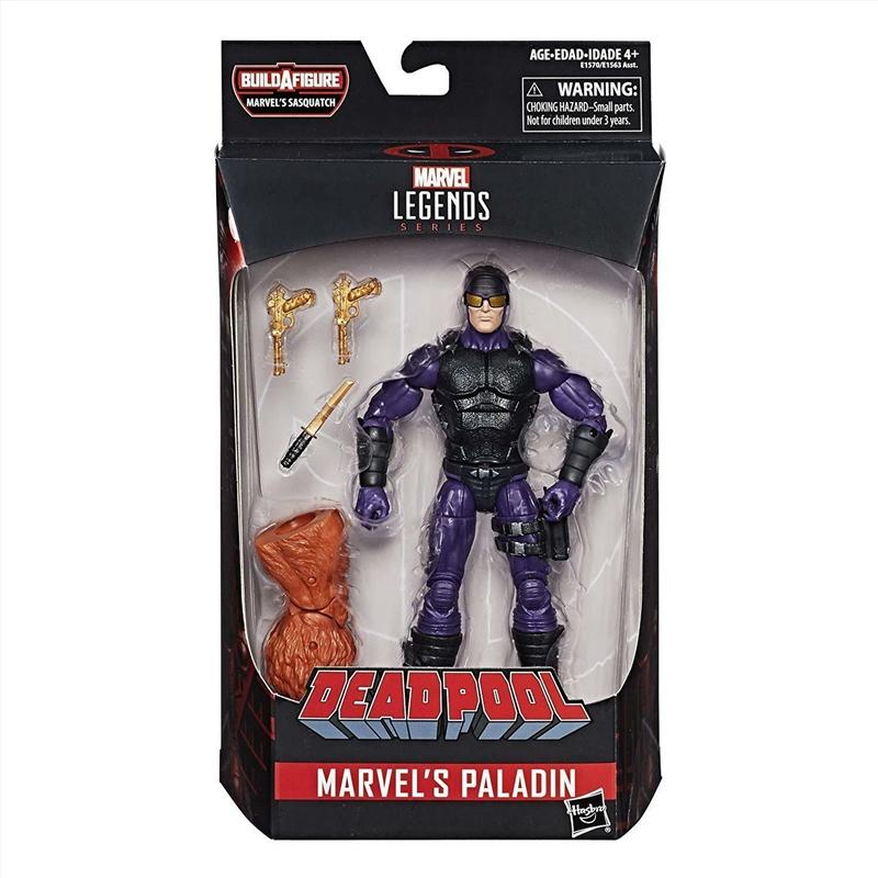 Marvel Legends Deadpool 2 Paladin 6 Inch Figurine | Merchandise