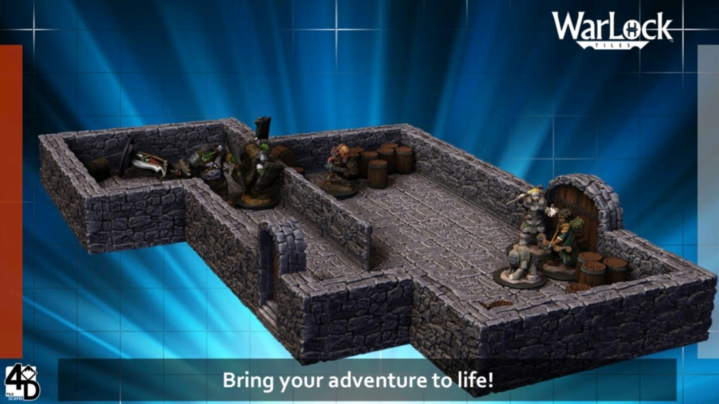 WarLock Tiles - Dungeon Tiles Advanced Starter Set | Merchandise