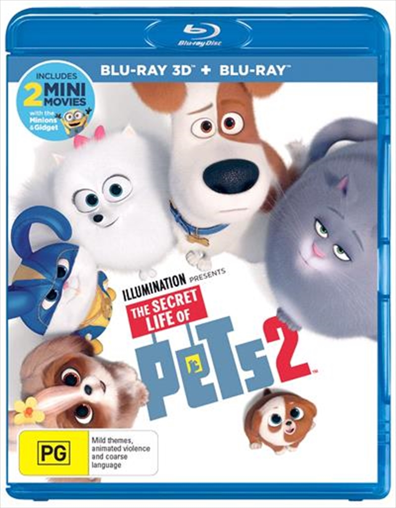 Secret Life Of Pets 2, The | Blu-ray 3D