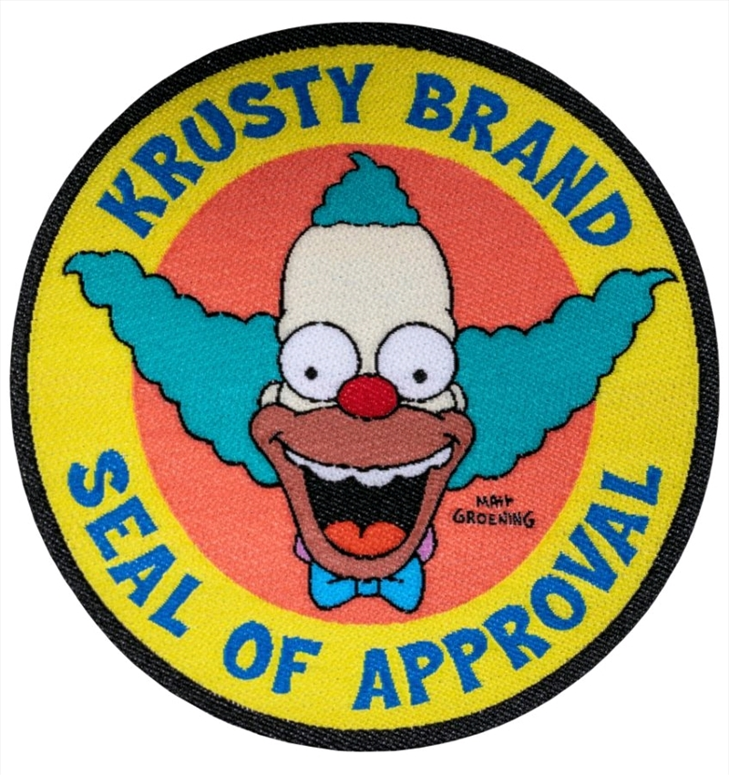 The Simpsons - Krusty Brand Seal of Approval Patch | Merchandise