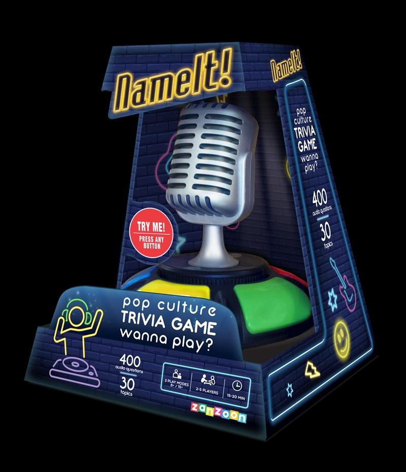 Name It - Pop Culture Audio Trivia Game | Merchandise