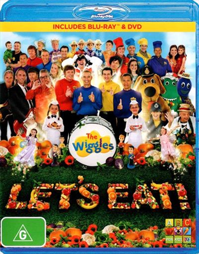 Wiggles - Let's Eat, The   Blu-ray/DVD