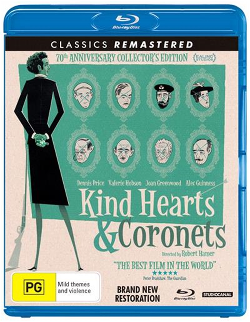 Kind Hearts And Coronets | Blu-ray