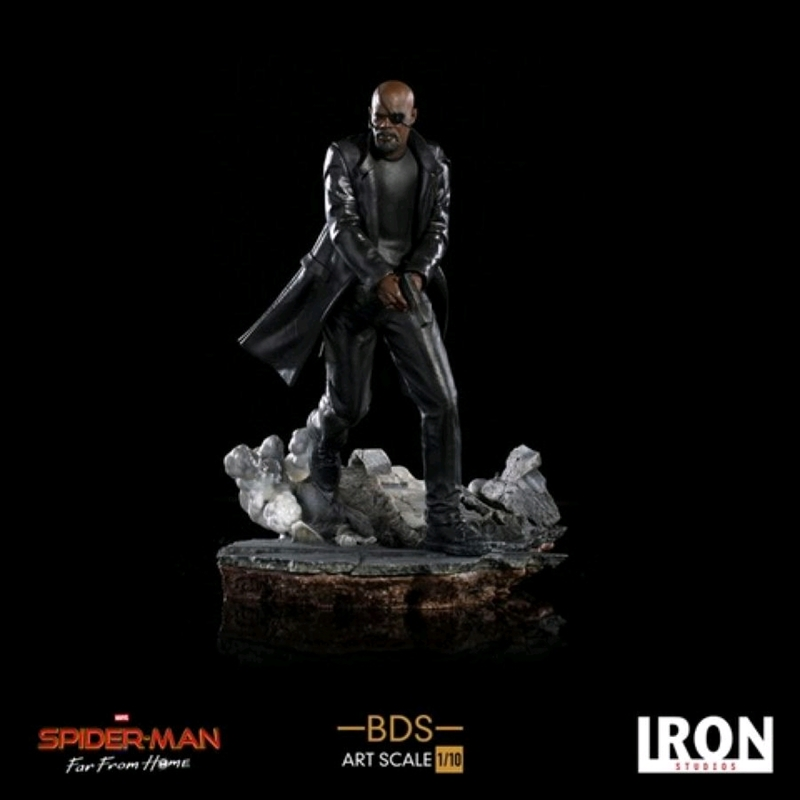 Spider-Man: Far From Home - Nick Fury BDS 1:10 Scale Statue | Merchandise
