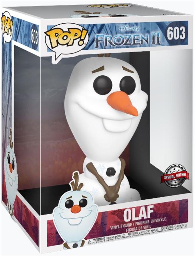 """Frozen 2 - Olaf 10"""" Pop!   Pop Vinyl"""