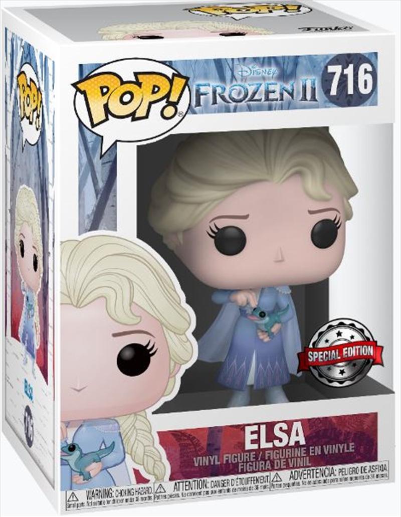 Frozen 2 - Elsa with Salamander US Exclusive Pop! Vinyl [RS] - SANITY EXCLUSIVE   Pop Vinyl