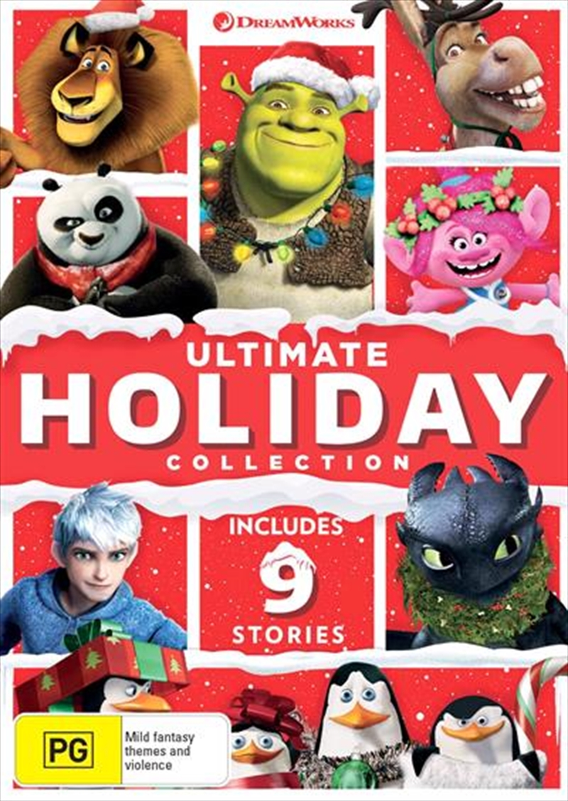 Dreamworks Ultimate Holiday - Limited Edition Collection | DVD