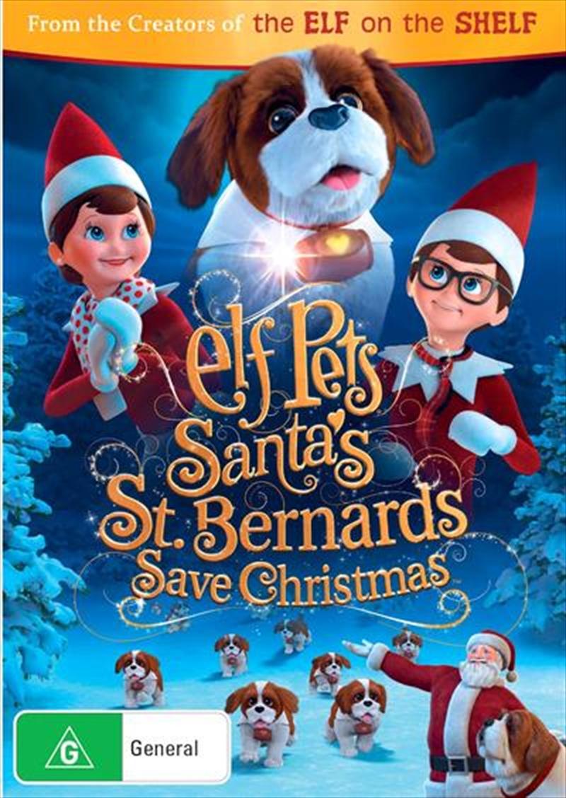 Elf Pets - Santa's St. Bernards Save Christmas | DVD