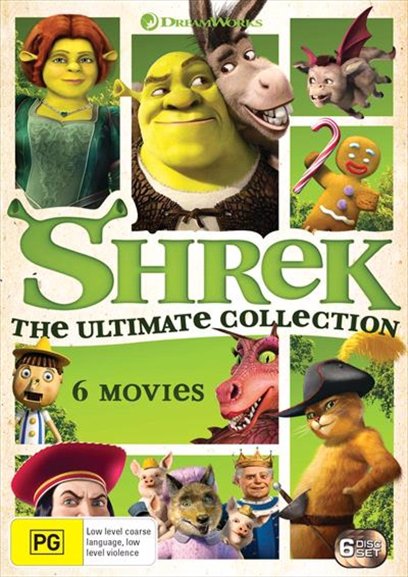 Shrek - Ultimate Collection - Limited Edition | DVD