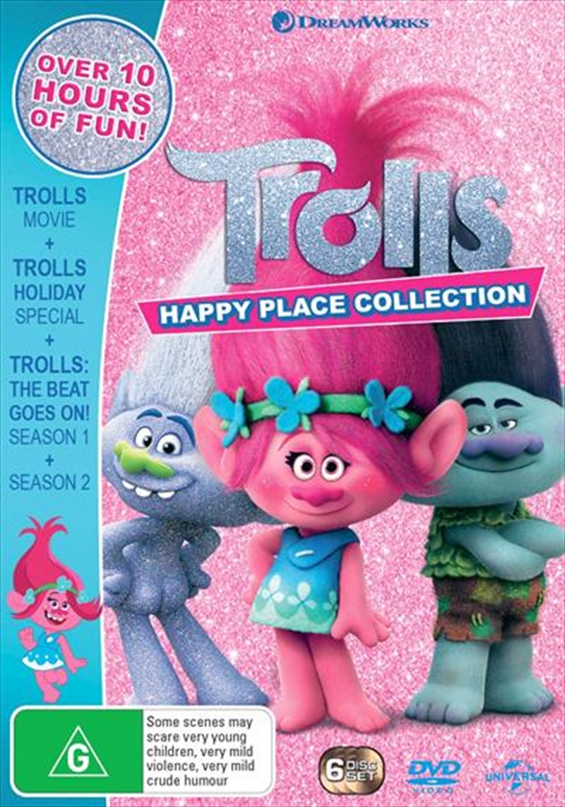 Trolls - Limited Edition | Happy Place Collection | DVD
