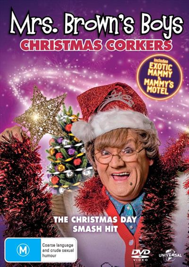 Mrs. Brown's Boys - Christmas Corkers - Exotic Mammy / Mammy's Motel | DVD