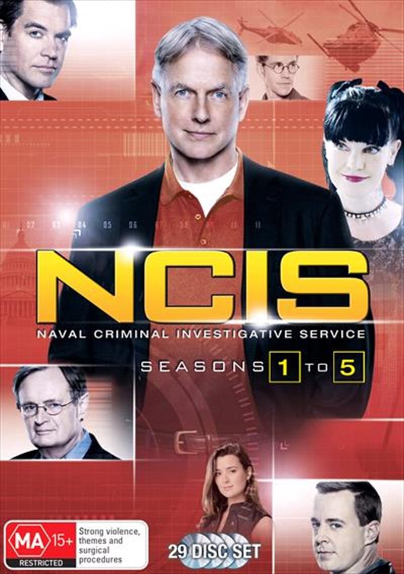 NCIS - Season 1-5 | Boxset | DVD