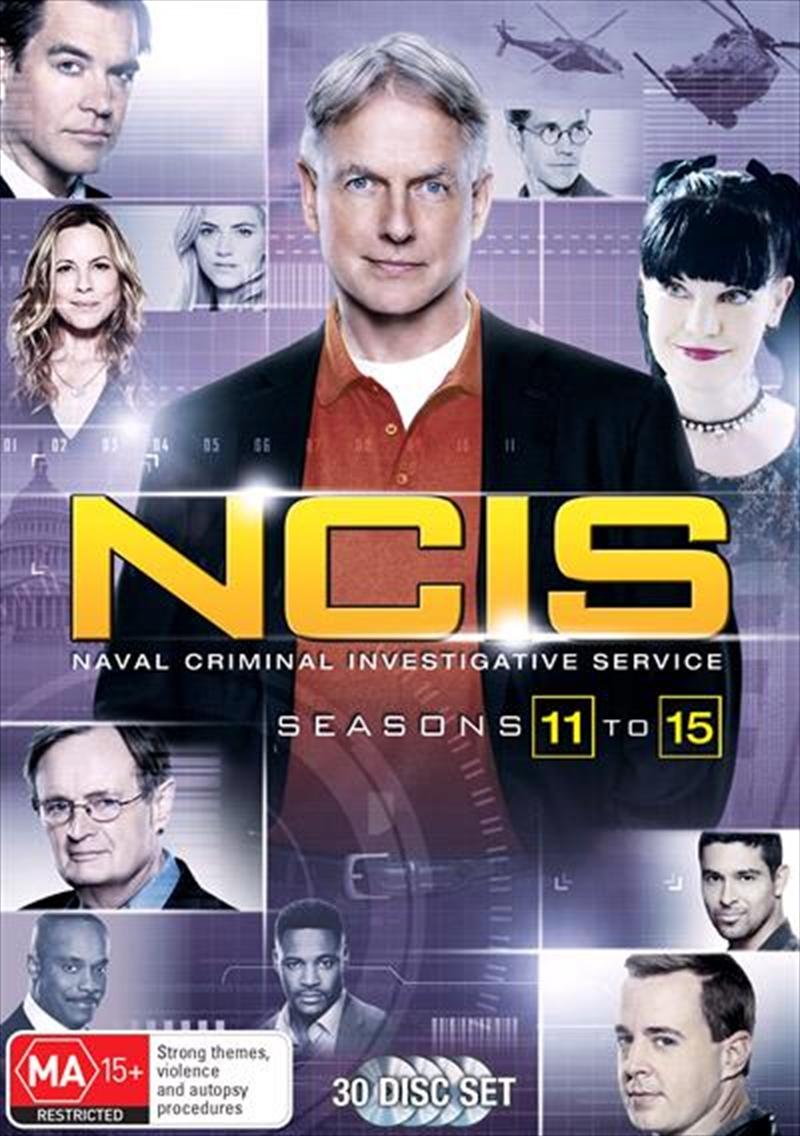NCIS - Season 11-15 | Boxset | DVD