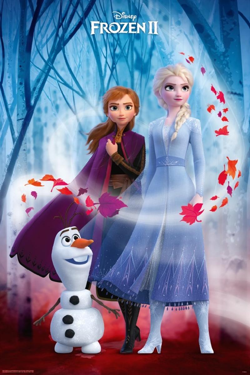 Frozen 2 Key Art Poster | Merchandise