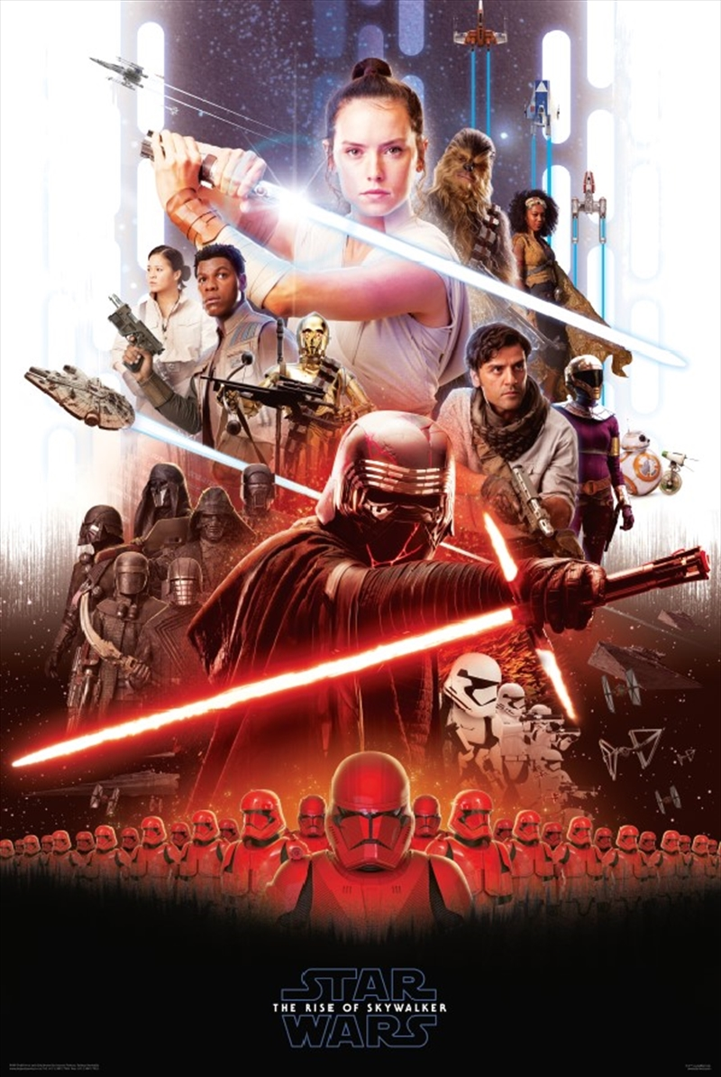Star Wars 9 Key Art Poster | Merchandise