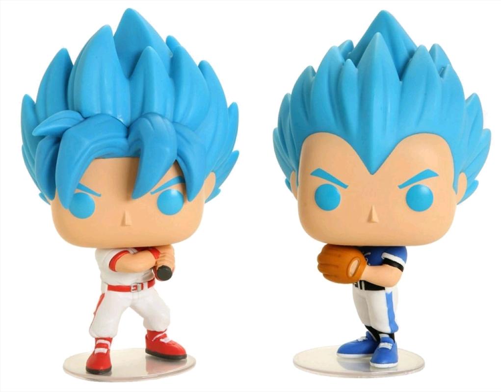 Dragon Ball Super - Goku & Vegeta Baseball US Exclusive Pop! Vinyl 2-Pack [RS] | Pop Vinyl
