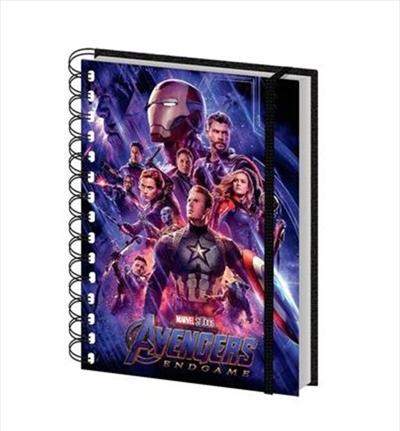Avengers: Endgame One Sheet A5 Spiral | Merchandise