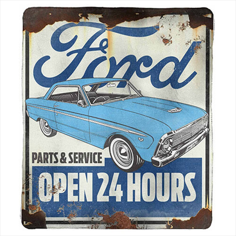 Ford Heritage Throw Rug