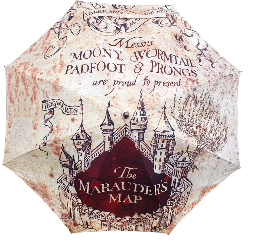 Harry Potter - Marauders Map Umbrella | Merchandise