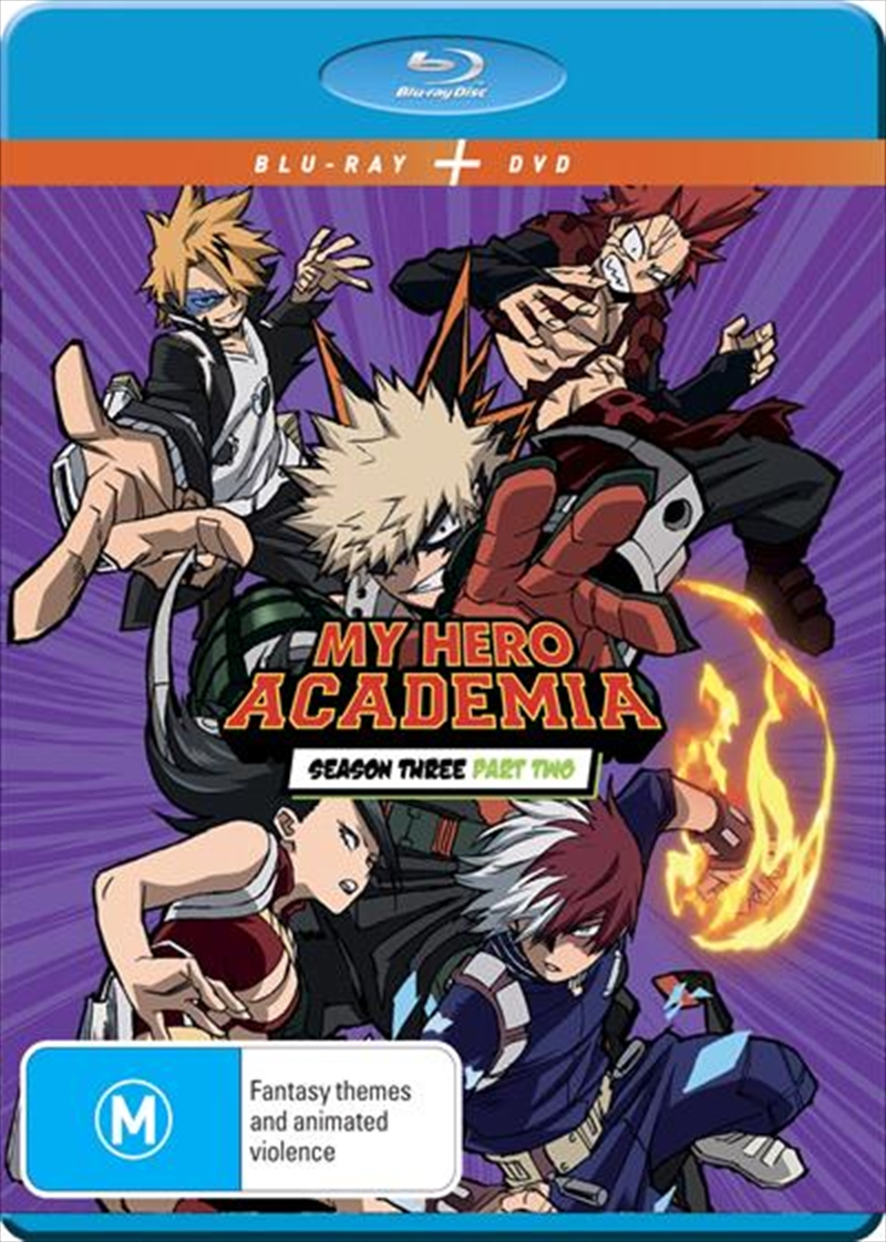 My Hero Academia - Season 3 - Part 2   Blu-ray + DVD   Blu-ray/DVD