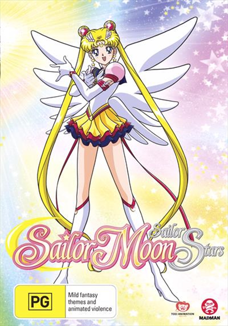 Sailor Moon Sailor Stars - Season 5 - Part 1 - Eps 167-183 - Limited Edition | DVD
