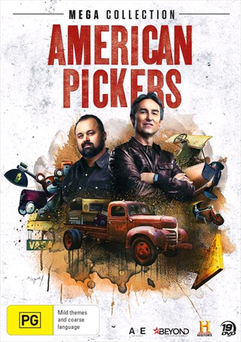 American Pickers | Mega Collection | DVD