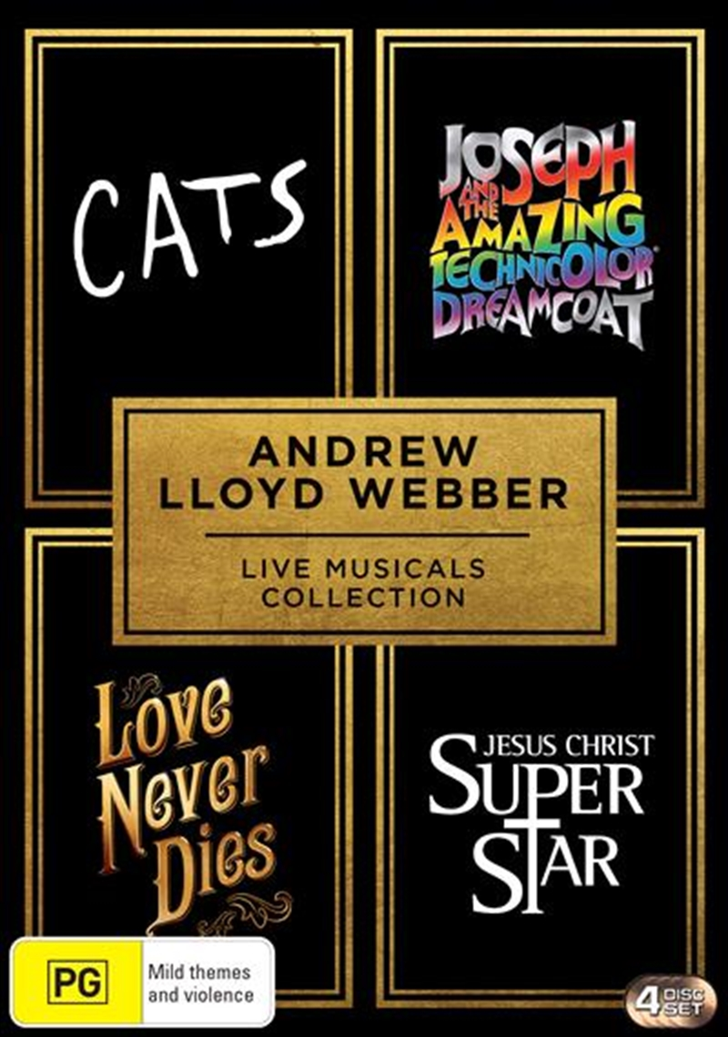 Andrew Lloyd Webber - Live Musicals Collection | DVD