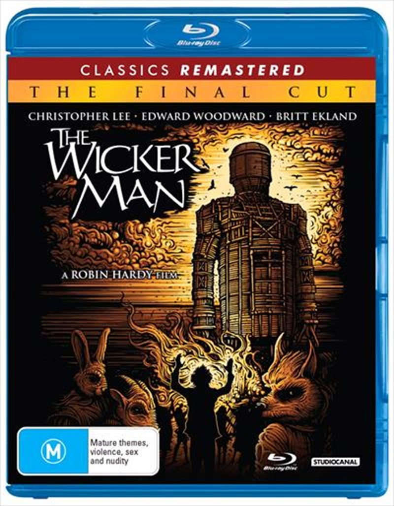 Wicker Man Final Cut - 1973 Re-Release, The | Blu-ray
