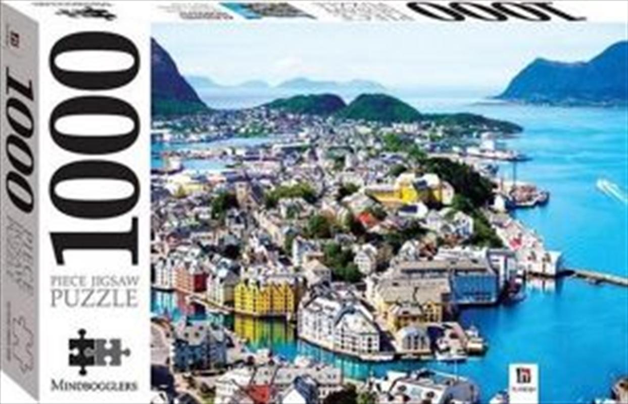 Alesund, Norway - 1000 piece jigsaw 1000 Piece Puzzle | Merchandise