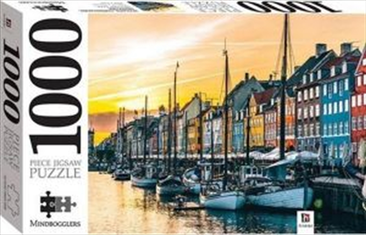 Nyhavn, Copenhagen, Denmark - 1000 piece jigsaw 1000 Piece Puzzle | Merchandise