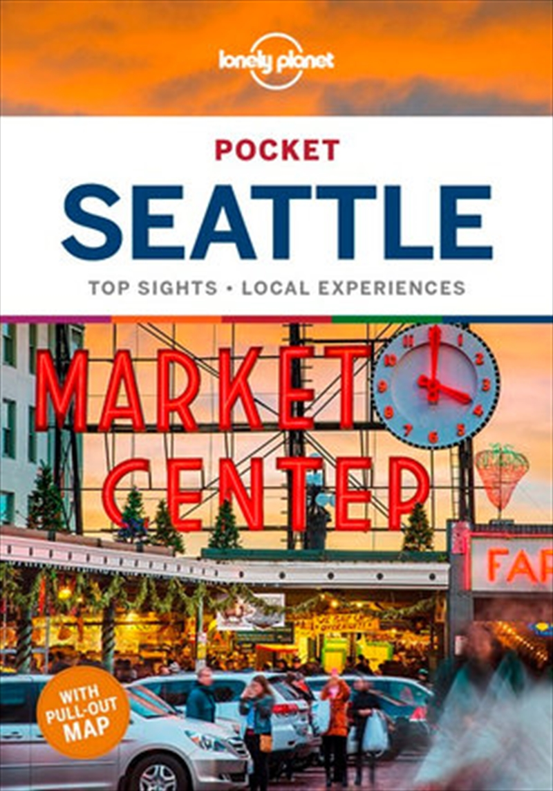 Lonely Planet - Pocket Seattle Travel Guide | Paperback Book
