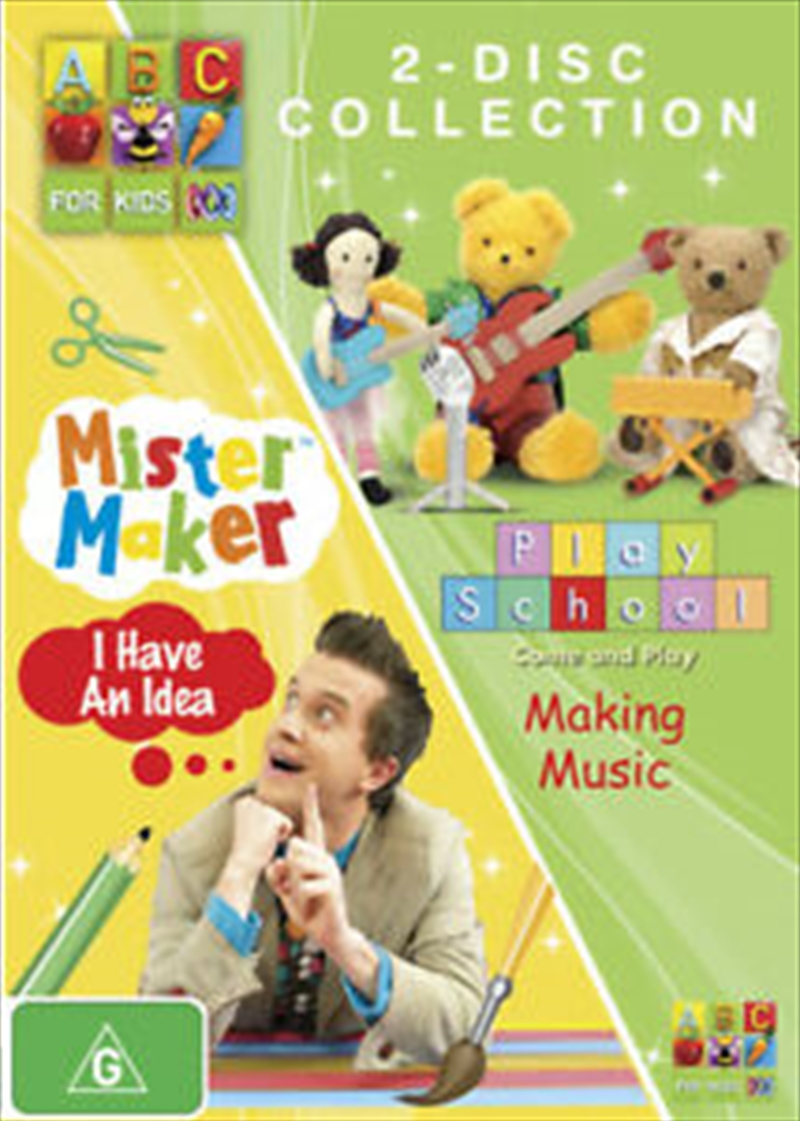 Mister Maker: I Have An Idea / Play School: Making Music | DVD