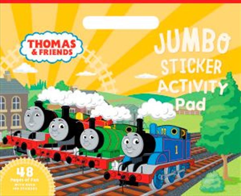 Thomas and Friends: Jumbo Sticker Activity Pad | Paperback Book