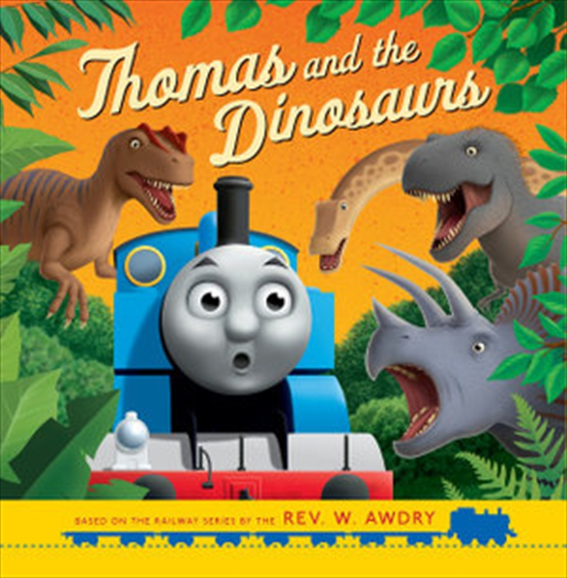 Thomas and the Dinosaurs | Paperback Book