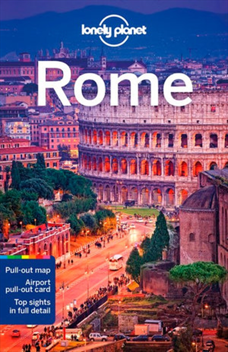 Lonely Planet Rome Travel Guide | Paperback Book