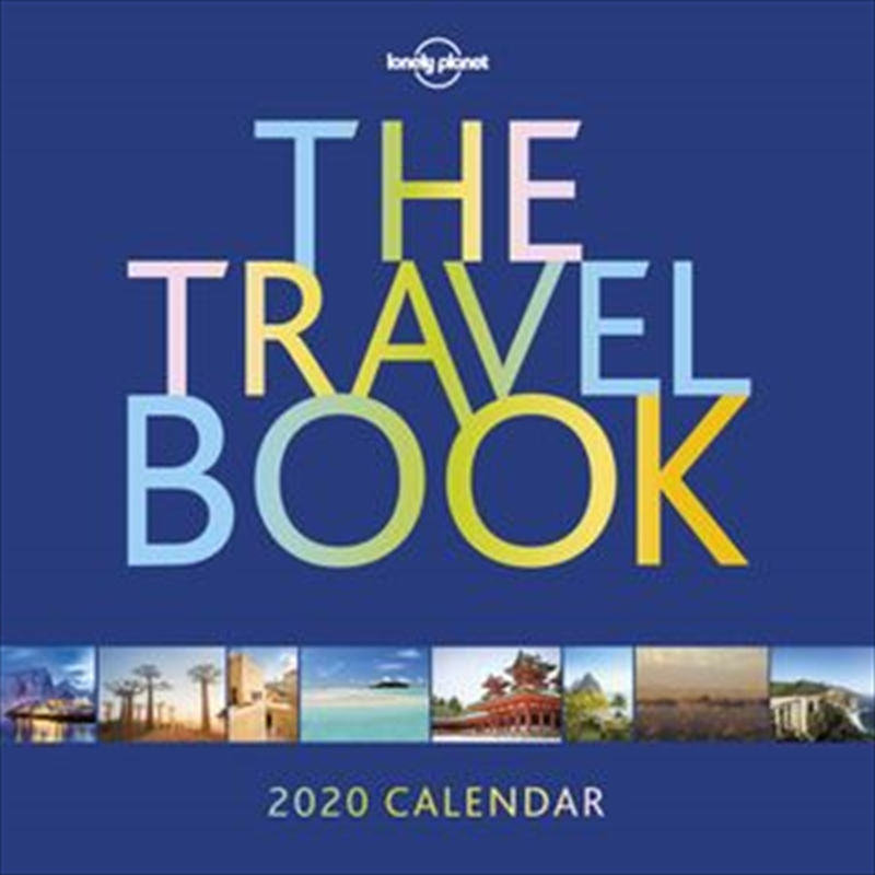 Lonely Planet - Travel Book Wall Calendar 2020 | Merchandise