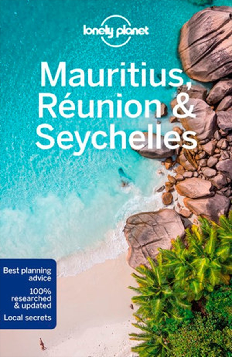 Lonely Planet Mauritius, Reunion & Seychelles Travel Guide | Paperback Book