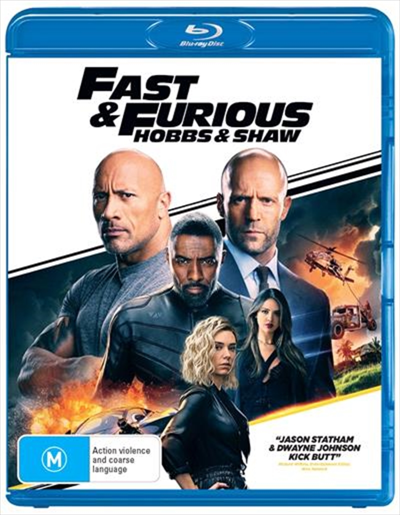 Fast and Furious - Hobbs and Shaw | Blu-ray