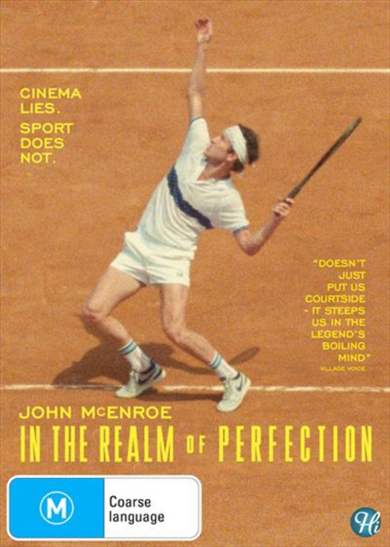 John Mcenroe - In The Realm Of Perfection | DVD