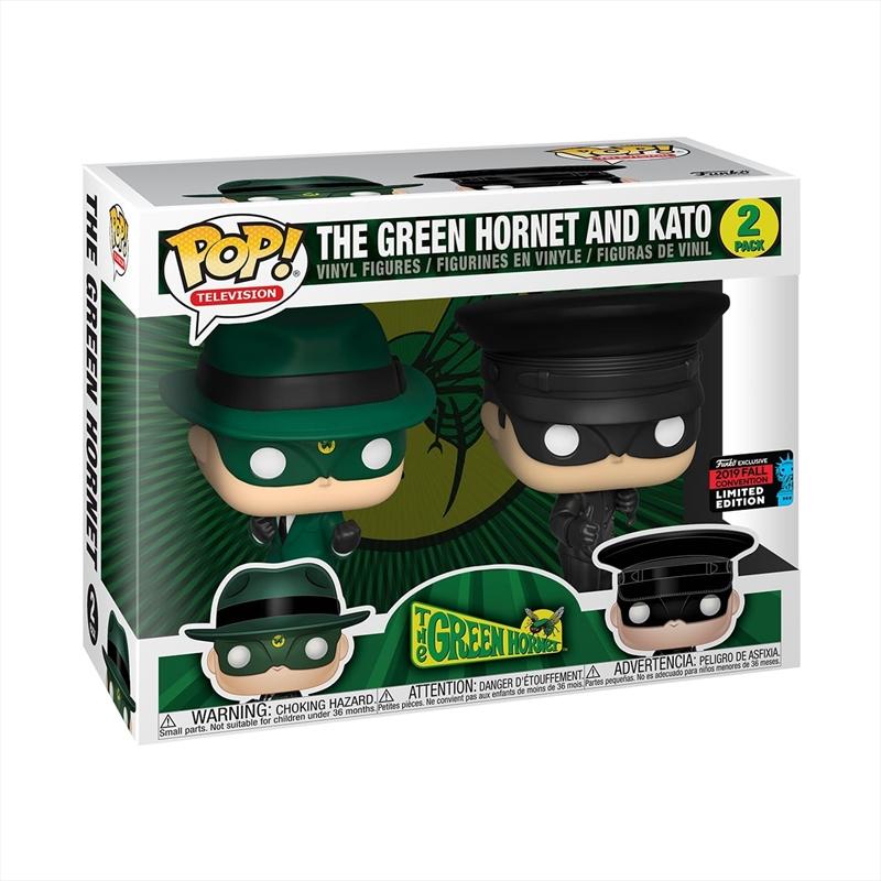 Green Hornet - Green Hornet And Kato Pop! NYCC19 RS | Pop Vinyl