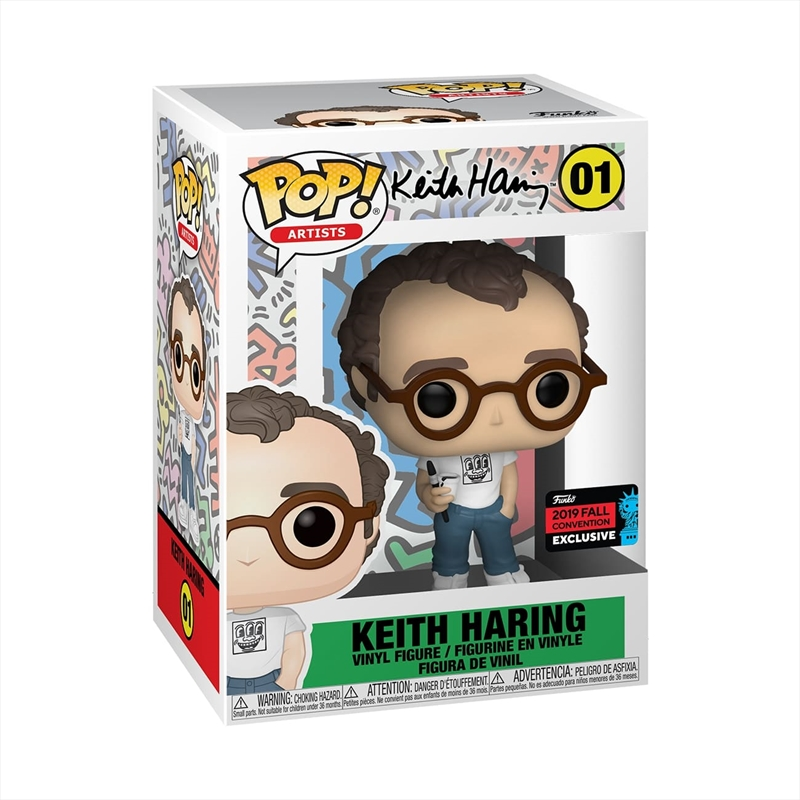 Icons - Keith Haring Pop! NYCC19 RS   Pop Vinyl